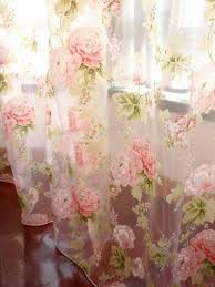 Shabby Chic Floral Curtains by Best 20 Shabby Chic Curtains Ideas On Pinterest Pink Curtains