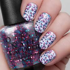 polka com nail lacquer opi
