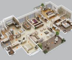 houses with 4 bedrooms studio apartment floor plans