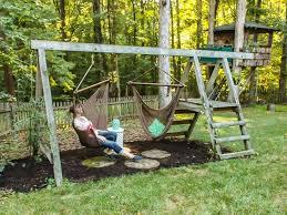 Backyard Swing Ideas Swing For Backyard Photo Best 25 Backyard Swings Ideas On