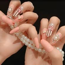 popular oval acrylic nail designs buy cheap oval acrylic nail