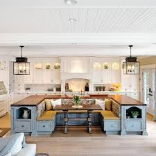 kitchen island with bench 20 kitchen island with seating ideas home dreamy regard to amazing