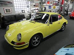 yellow porsche 911 1973 light yellow 911 e aase sales porsche parts center