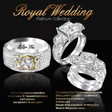 royal wedding ring second marketplace exquisite royal wedding platinum collection