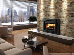 new gas fireplace insert with blower u2014 farmhouses