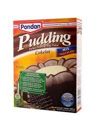 membuat puding fla pondan pudding coklat box 200g klikindomaret