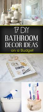 diy bathroom decor ideas diy bathroom decor ideas on a budget