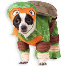 pet costume halloween tmnt michelangelo pet costume buycostumes com