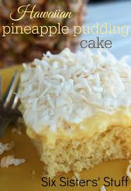 hawaiian pineapple pudding cake recipe six sisters u0027 stuff