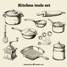 Kitchen Utensils And Tools by Kitchen Utensils Vector Vectors Photos And Psd Files Free Download