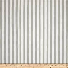 premier prints basic stripe twill snowy gray premier prints