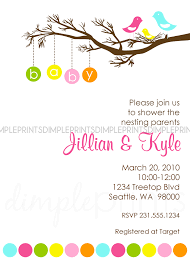 lovely baby shower bird invitations part 14 bird themed baby