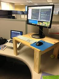 Standing Desk For Desktop Best 25 Standing Desk Height Ideas On Pinterest Standing Desks