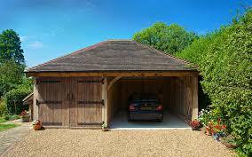 barn garages two bay cart barns brookwood oak barns