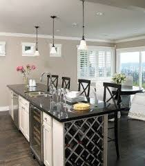 kitchen island wine rack artesano cabinet company inc custom cabinets kelowna bc throughout