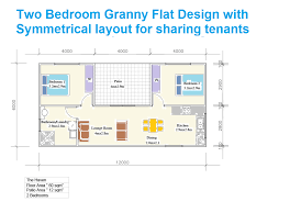 granny flat plans granny flat designs 1 2 3 bedroom building ohana floor