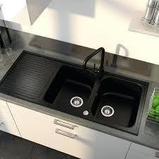 evier de cuisine en resine 2 bacs evier cuisine noir 2 bacs evier de cuisine brico depot avier granit