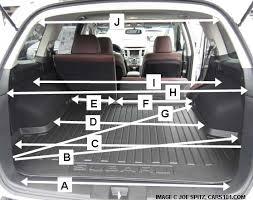 Toyota Highlander Interior Dimensions Subaru Outback Interior Dimensions 2017 Ototrends Net