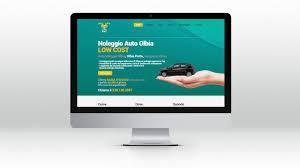 noleggio auto olbia porto site web lupobike william mari visual e motion designer