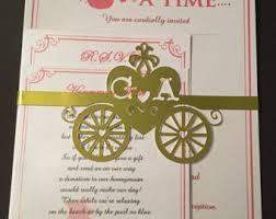 Fairytale Wedding Invitations Fairytale Wedding Invitations Etsy Uk