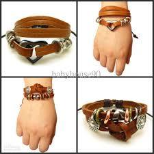 engraved bracelets 2012hot sale mens leather bracelets high quality leather engraved