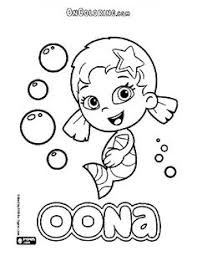 bubble guppies coloring pages google bubble guppies