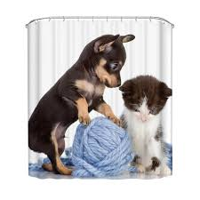 Bathroom Supplies Online Online Get Cheap Cat Shower Curtain Aliexpress Com Alibaba Group