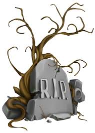 halloween rip tombstone and tree png clipart image gallery