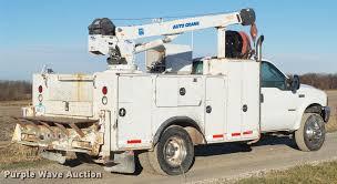2004 ford f550 super duty service truck with crane item l5