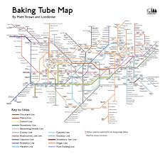 London Subway Map by The Baker U0027s Tube Map Londonist