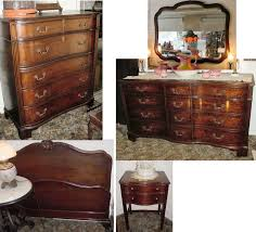 Antique Mahogany Bedroom Furniture Chippendale Mahogany Bedroom Suite By Kindel