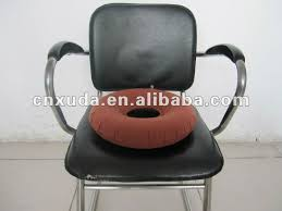 elderly round rubber donut air seat cushion direct factory aft