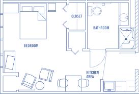 walk in closed small aparment floor plan idea surripui net