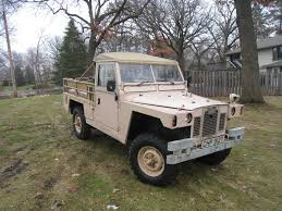 military land rover 1978 land rover military series 109 lightweight not defender