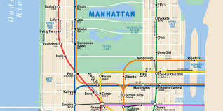 Nyc Subway Map App by The Map Every Nyc Coffee Addict Needs To Survive Huffpost
