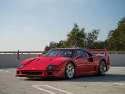 how many f40 are left rm sotheby s 1990 f40