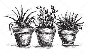 set of flower pots by kamenuka graphicriver
