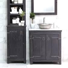 Glacier Bay Bathroom Cabinets Glacier Bay Lancaster 30 In W X 19 D Bath Vanity And Bathroom