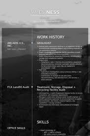 Driller Resume Example by Geologist Resume Samples Visualcv Resume Samples Database