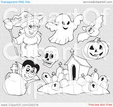 transparent halloween background royalty free rf clipart illustration of a digital collage of