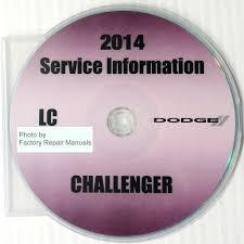 2014 dodge challenger factory service manual cd rom original shop