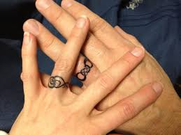 infinity wedding ring tattoos body art pinterest ring