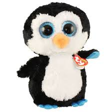 ty beanie boos waddles penguin large size 17