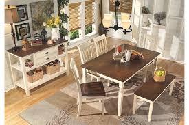 cottage dining room sets whitesburg dining room table furniture homestore