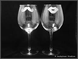 his hers wine glasses etched his and hers wine glasses jackglass studios his and