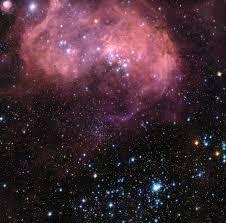 Galaxy Belt Sander by A Vast Cosmic Cloudy Brain Looms In A Nearby Galaxy Bad