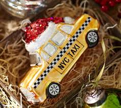 Pottery Barn New York City Nyc Taxi Ornament Pottery Barn