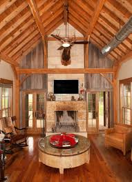 rustic great room timber frames residential project photo gallery