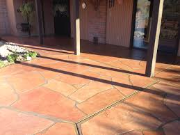 Patio Cover Repair by Patio Flagstone Overlay Repair Recolor And Reseal In Tucson Az