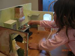 home made theater cinderella u0027s handmade miniature kitchen castle of costa mesa
